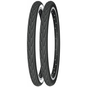 "Michelin City'J 20"", wire bead black/white"